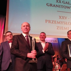 Granitowy Tulipan 2016 - Prezes Tomasz Jankowski