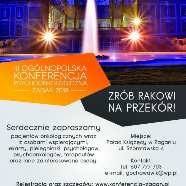 Plakat Żagań konferencja_