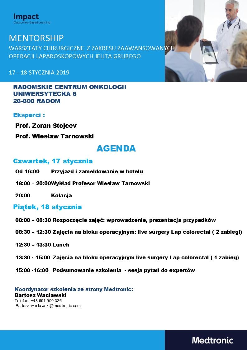 Agenda finalna Radom 17-18.01.2019